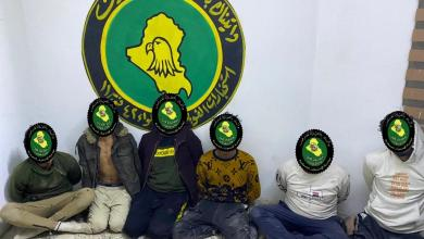 Photo of وزارة الدفاع تداهم مقرات مجموعتين تتاجر بالمخدرات وتلقي القبض على جميع عناصرها جنوبي بغداد