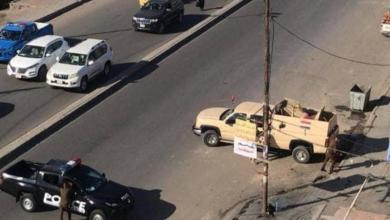 Photo of القوات الامنية تقطع شارعاً حيوياً وسط بغداد