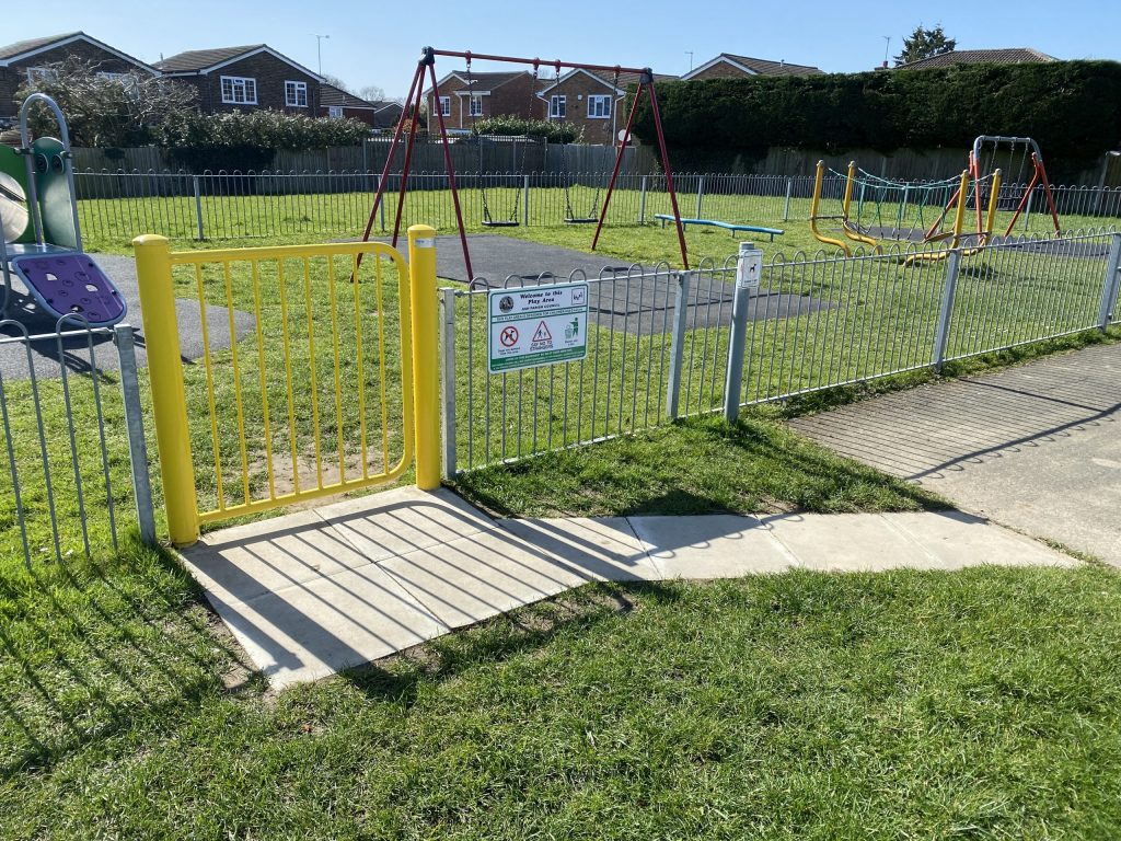 New Gate and Path