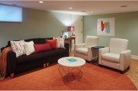 Basement Family Room | Ash Pierce Design