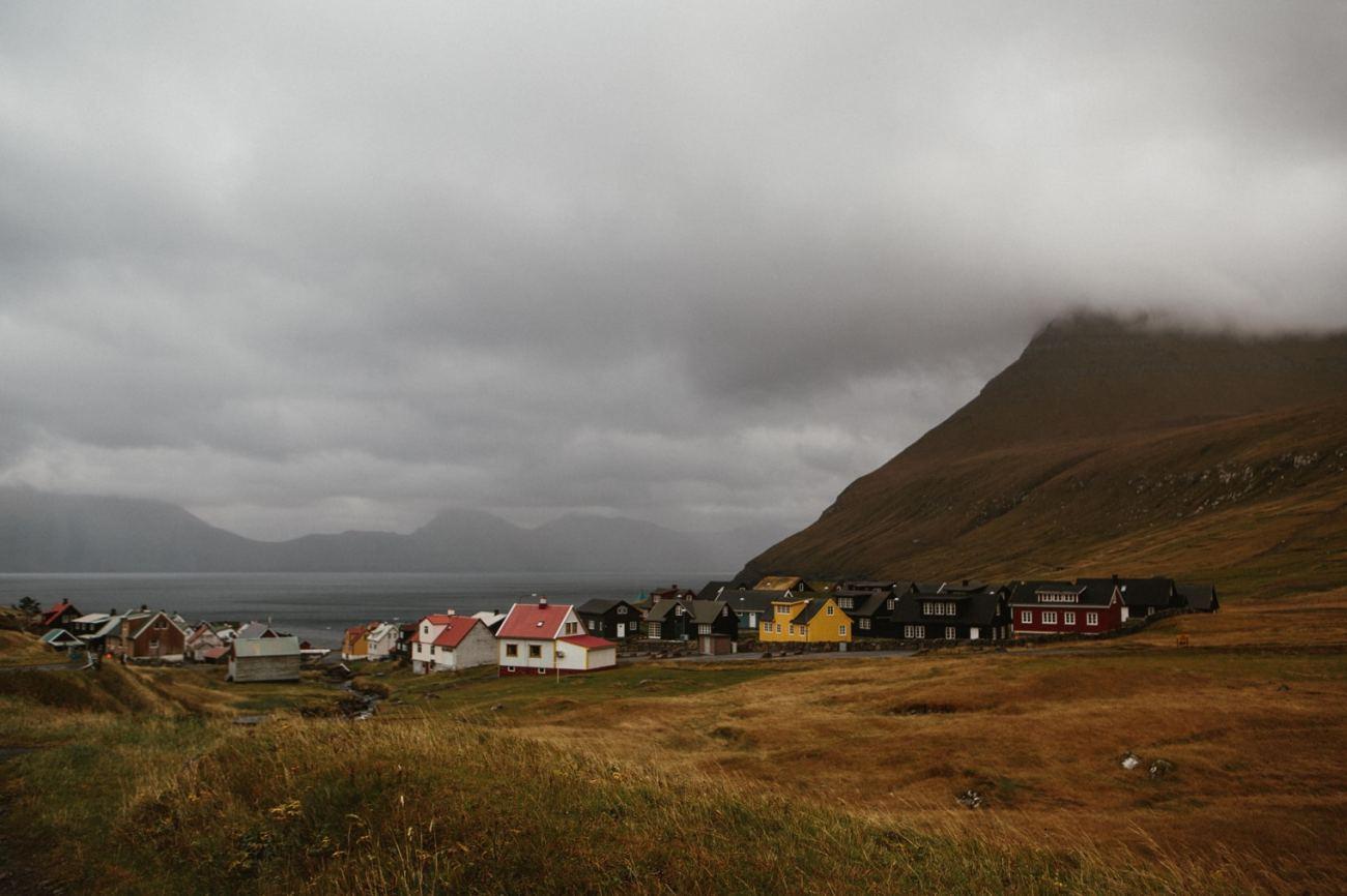 Gjógv in Faroe islands
