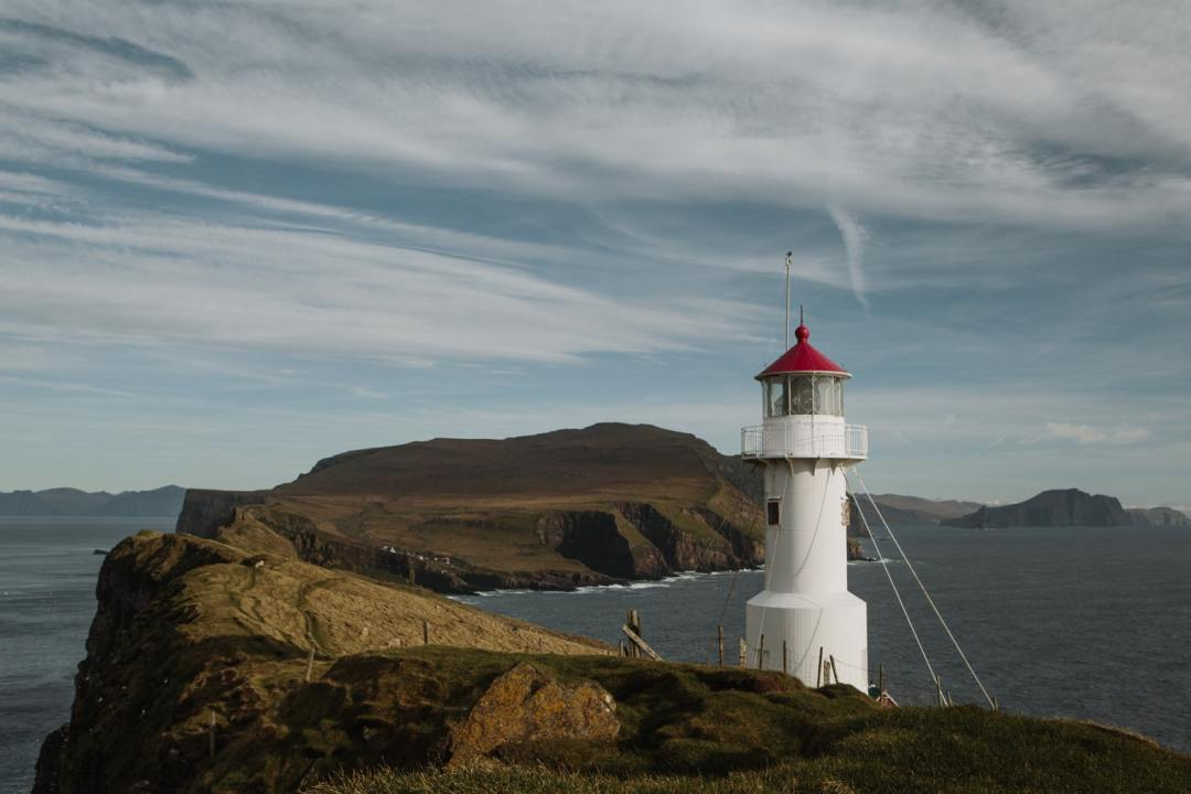 Mykines lighthouse Faroe Islands