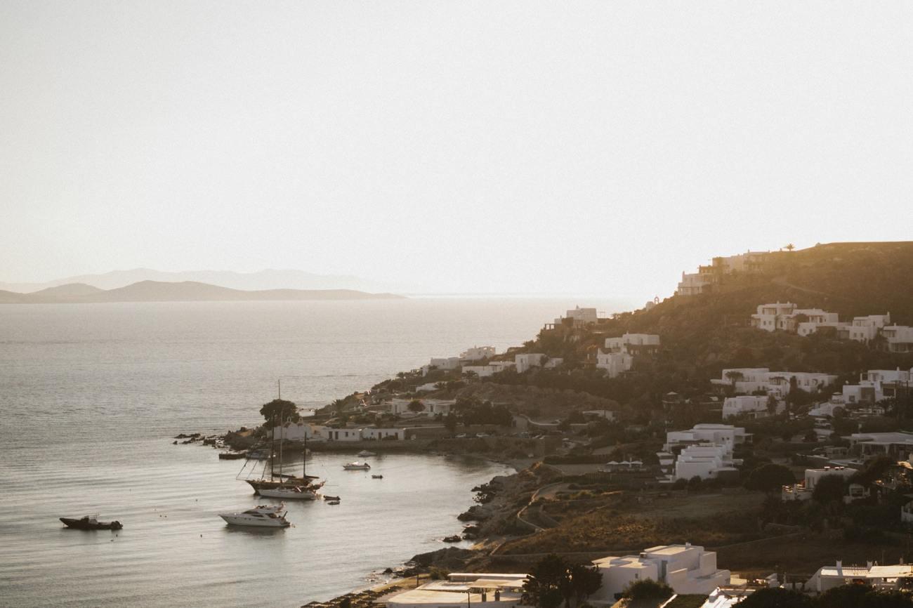 Mykonos Greece sunset
