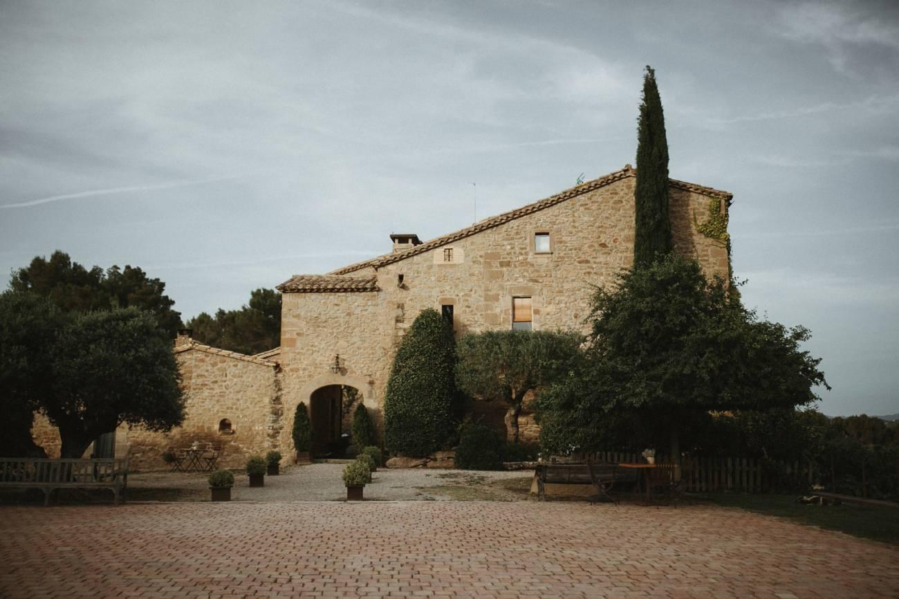 la garriga de castelladral wedding venue in Spain