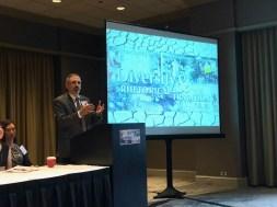 Scott Stroud, ASHR President, offers welcome remarks