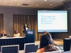 "Selena J. Palomino, Colorado State University, ""'Carving out Space' in the Rhetorical Tradition"""