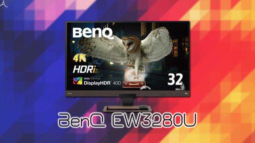 「BenQ EW3280U」ってモニターアーム使えるの?VESAサイズやおすすめアームはどれ?