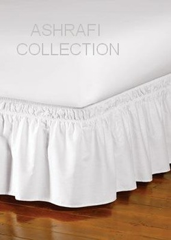 Frilly Bedsheets  Ashrafi Collection