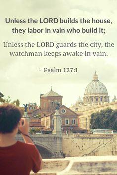 DAILY AFFIRMATIONS WITH SALT ASHIBUOGWU ON PSALMS 127