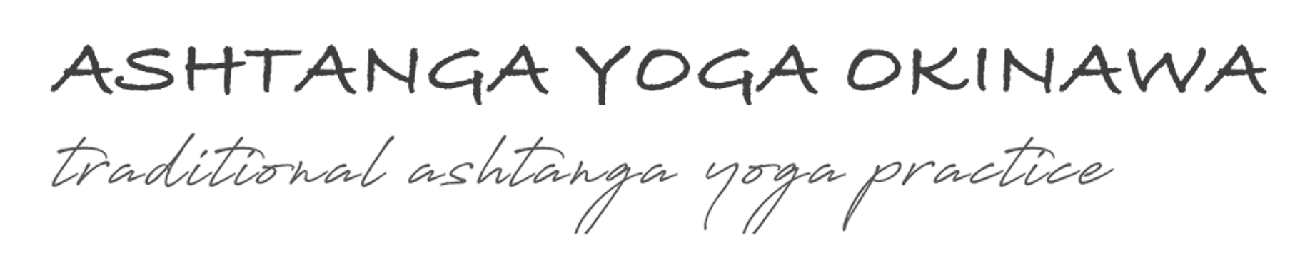 ashtanga yoga okinawa | logo