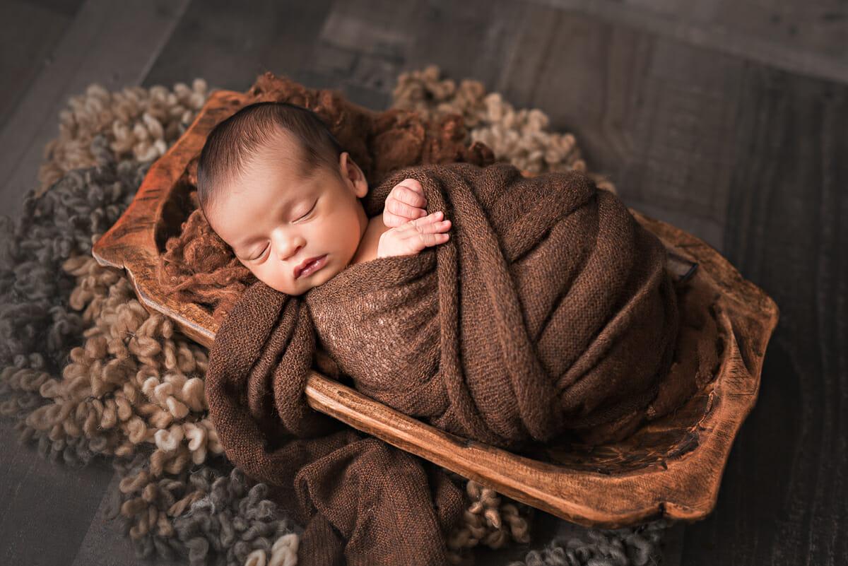 Baby m in the naples newborn studio
