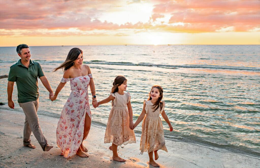 Family Beach Photographer in Naples Florida
