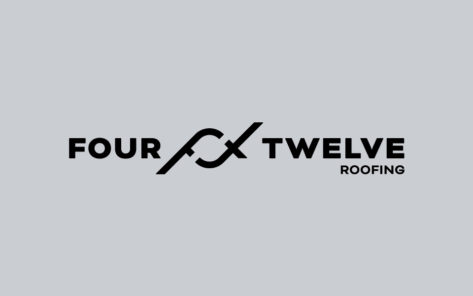 Four Twelve Roofing Horizontal Logo