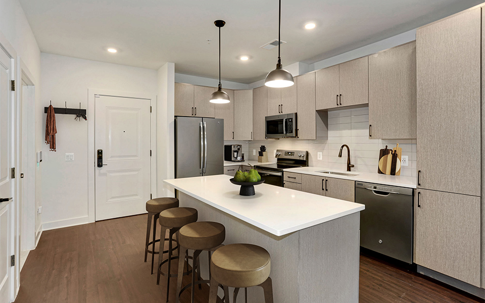 Vyne One Loudoun residence kitchen