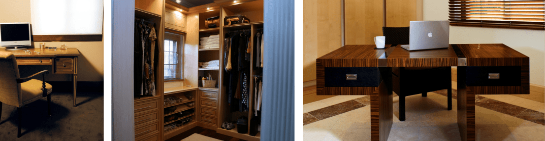 Bespoke Home office and walk in wardrobe
