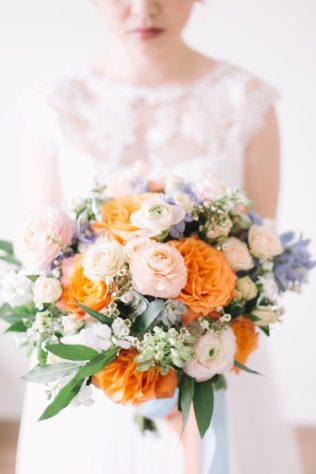 coral-peach-and-blue-bridal-bouquet