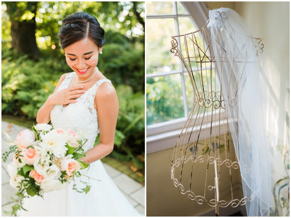 bridal portraits maryland wedding photographer