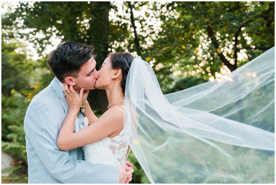 veil whip just married maryland wedding photographer