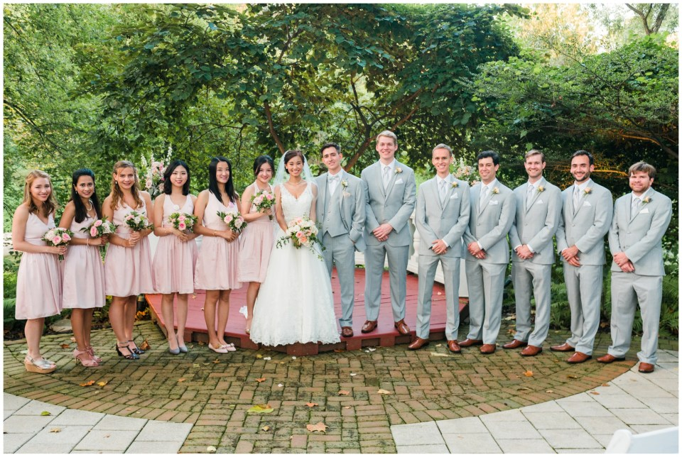 bridal party elkridge furnace inn maryland wedding photographer