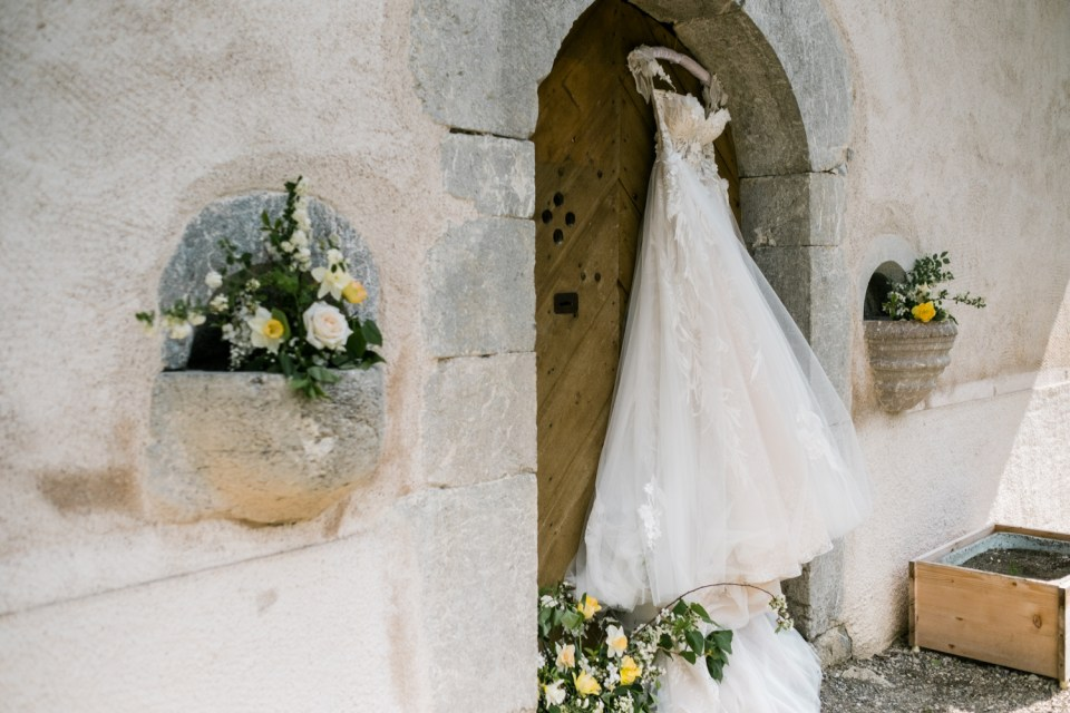 This 17th century chapel was the backdrop of an incredible destination elopement.