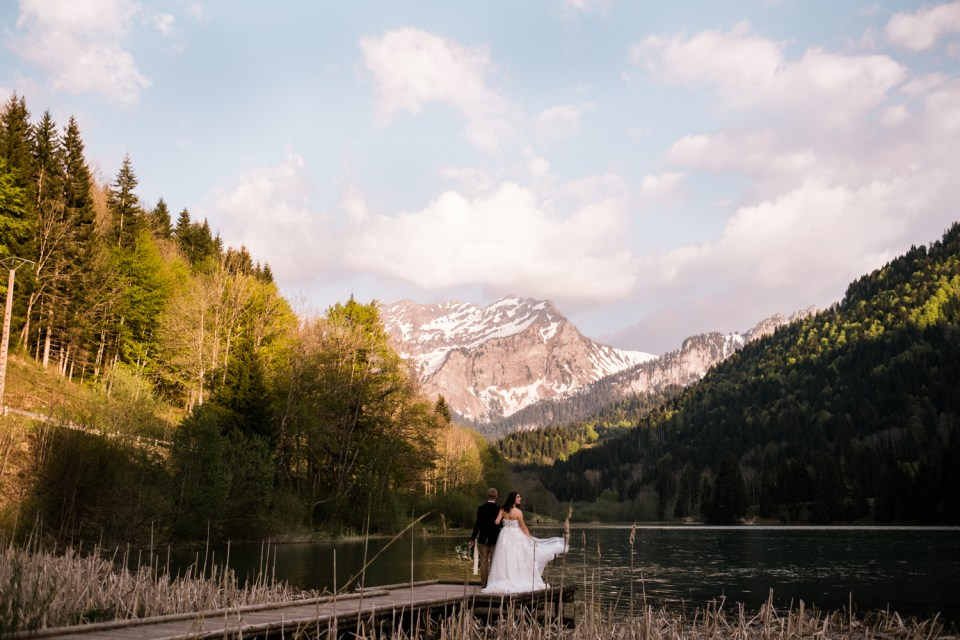 If you're adventurous, why not choose an adventure for your wedding day?