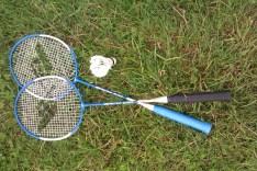 Badmintonas Vingio parke