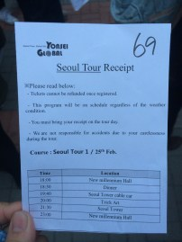 Seoul Night Tour!