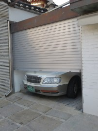 This garage needs to be enlarged