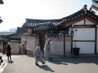 Monks in Bukchon