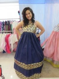 The bottom dress