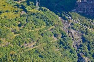 Climbing Corps de Garde - Waterfall