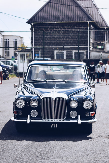 10th Classic Tour Mauritius - The Queen's Car