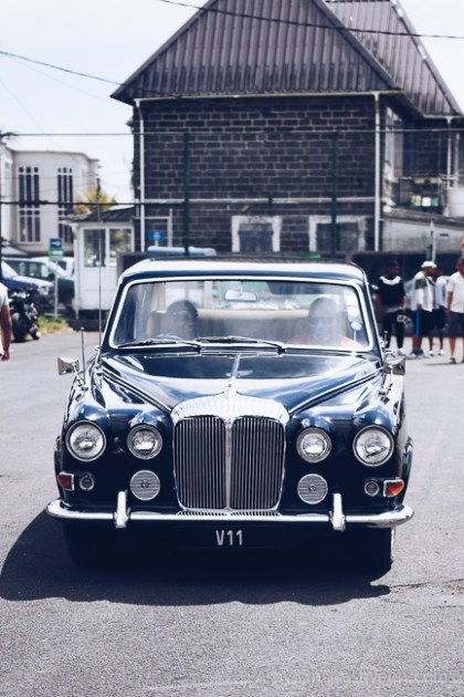 10th Classic Tour Mauritius - The Queen's Car