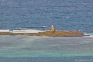Climbing Lion Mountain - The Old Lighthouse of Ile aux Fouquets