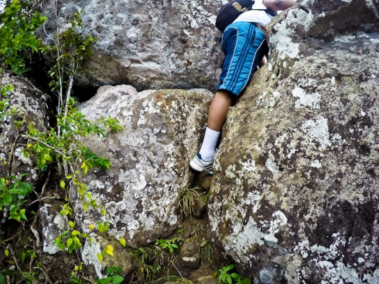 Climbing Lion Mountain - The Final Climb