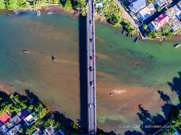 Drone Mauritius - Mahebourg - Ville Noire
