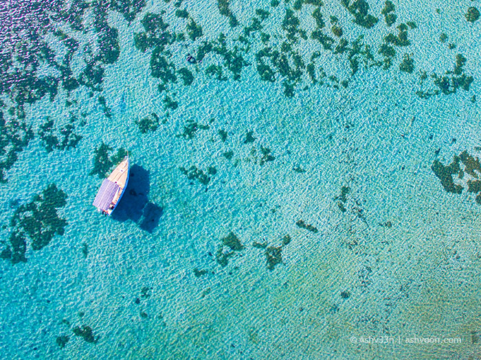 Drone Mauritius - Mahebourg Waterfront