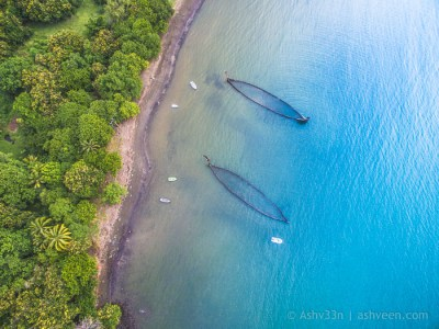 Drone Mauritius - Sable Noir Beach