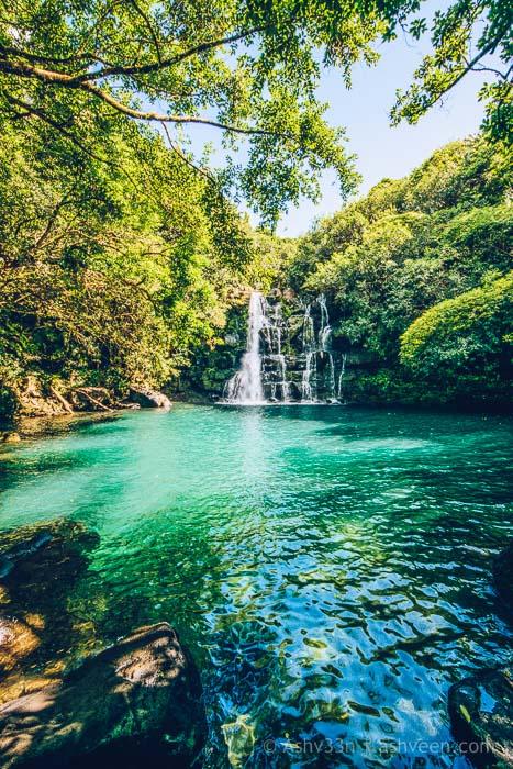 Eau Bleue Mauritius - Waterfall 4
