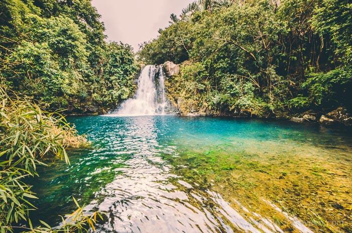 Eau Bleue Mauritius - Waterfall 2