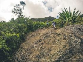 Hiking Pieter Both Mountain Mauritius - More minor climbs