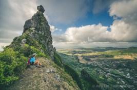 Hiking Pieter Both Mountain Mauritius - The Lower Summit