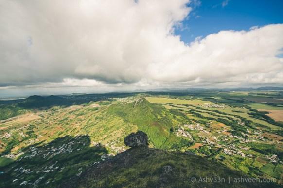 Hiking Pieter Both Mountain Mauritius - Views