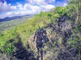 Hiking Tourelle Tamarin Mauritius - Getting Down