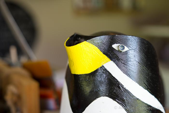 Lux Belle Mare Mauritius Junk Art Penguin Kettle