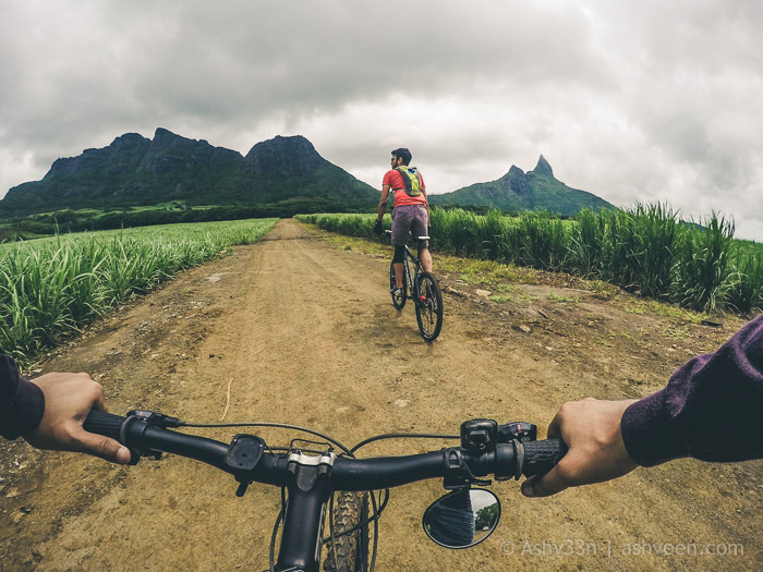 MTB Ride - Bassin Estate Fields
