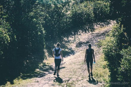 MTB Ride Macchabee Trail - Some Hikers