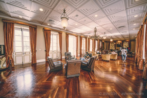 International Monuments Day - Government House - Lounge