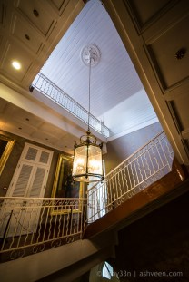International Monuments Day - Government House - Staircase