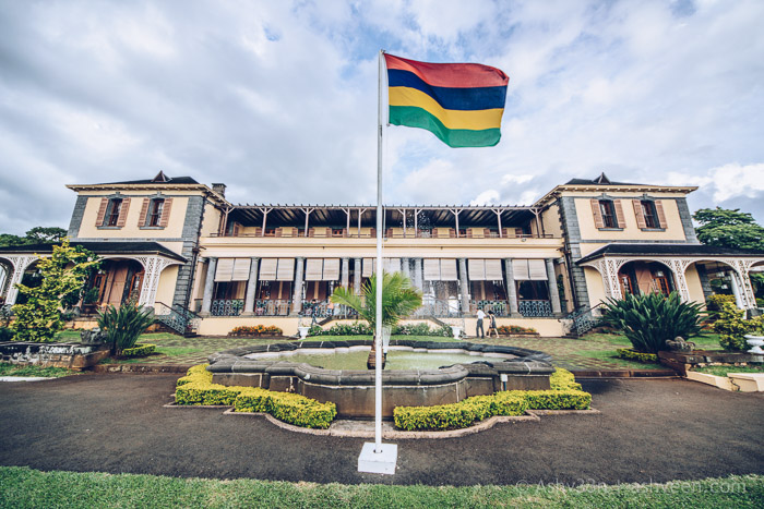 Monuments Day Apr 2017 Mauritius-State House Back